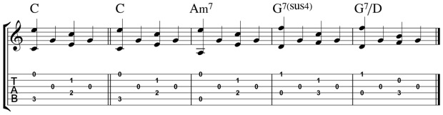 Open String Fingerpicking Pattern 1-png