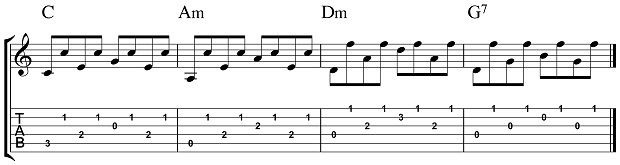 Intermediate Fingerpicking 1